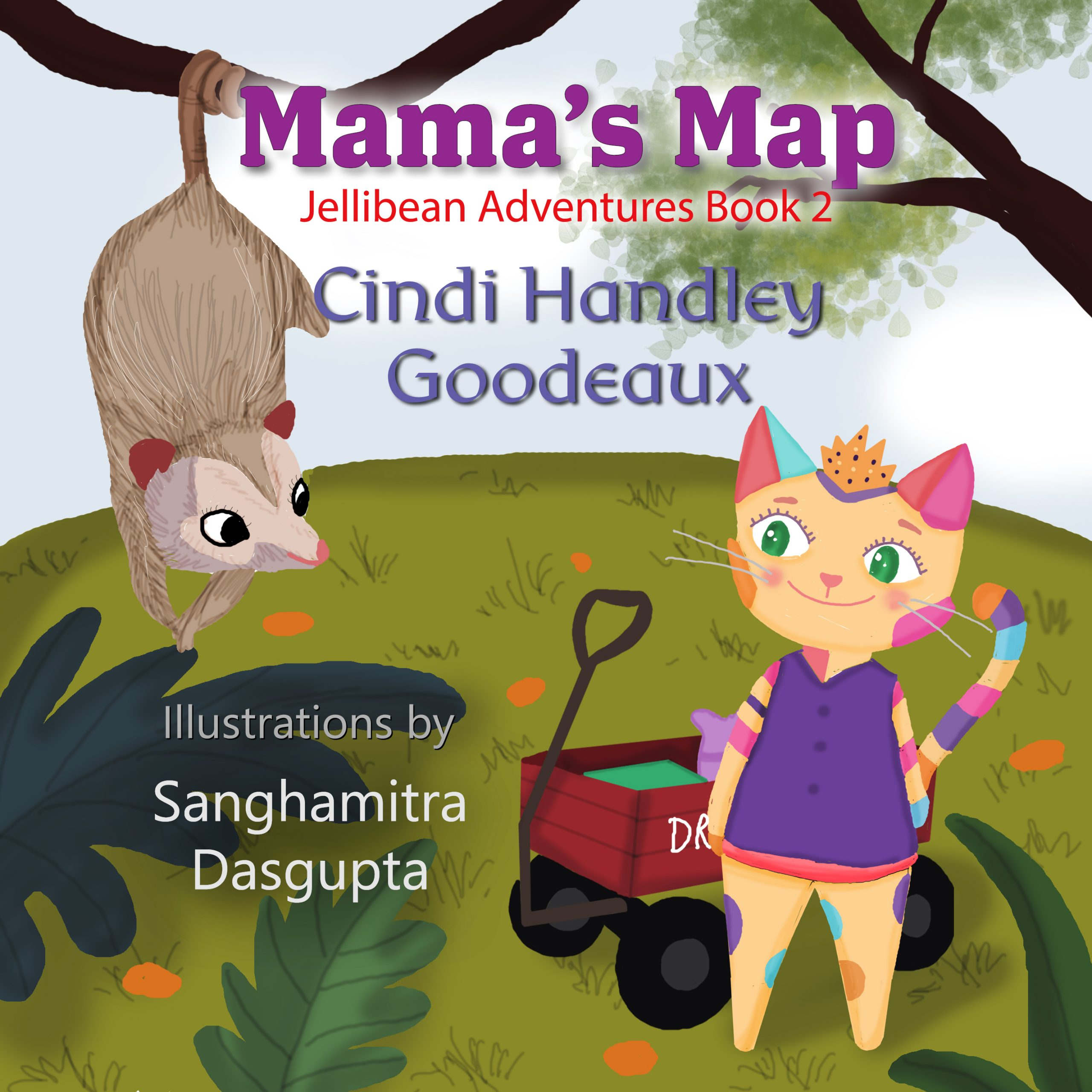 Jellibean Adventures Book 2: Mama's Map